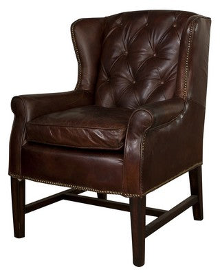 Clement Vintage Cigar Chair at Fabers Furnishings