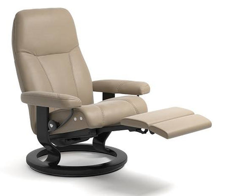 Consul Leg Comfort Recliner- Stressless available at Fabers Furnishings