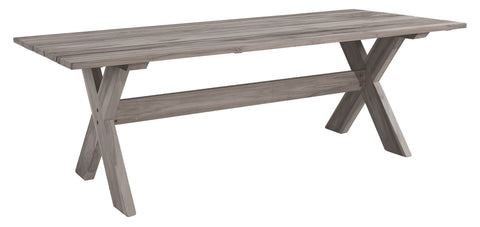 Artwood Cross Outdoor Dining Table available at Fabers Furnishings
