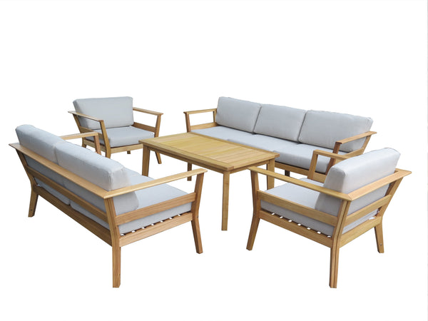 Capri 4pce Outdoor Lounge Suite Excludes 3 Seater