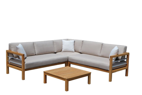 Augustine Outdoor Modular Lounge Suite & Coffee Table availalbe at Fabers Furnishings