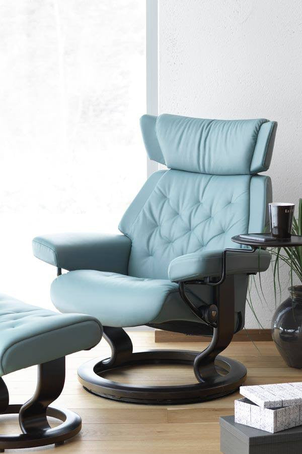 Skyline Classic Leather Recliner Stressless Fabers