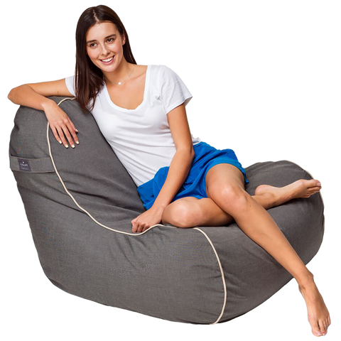 Coast New Zealand Marine Bean Luxury Bean Chair available at Fabers Furnishings