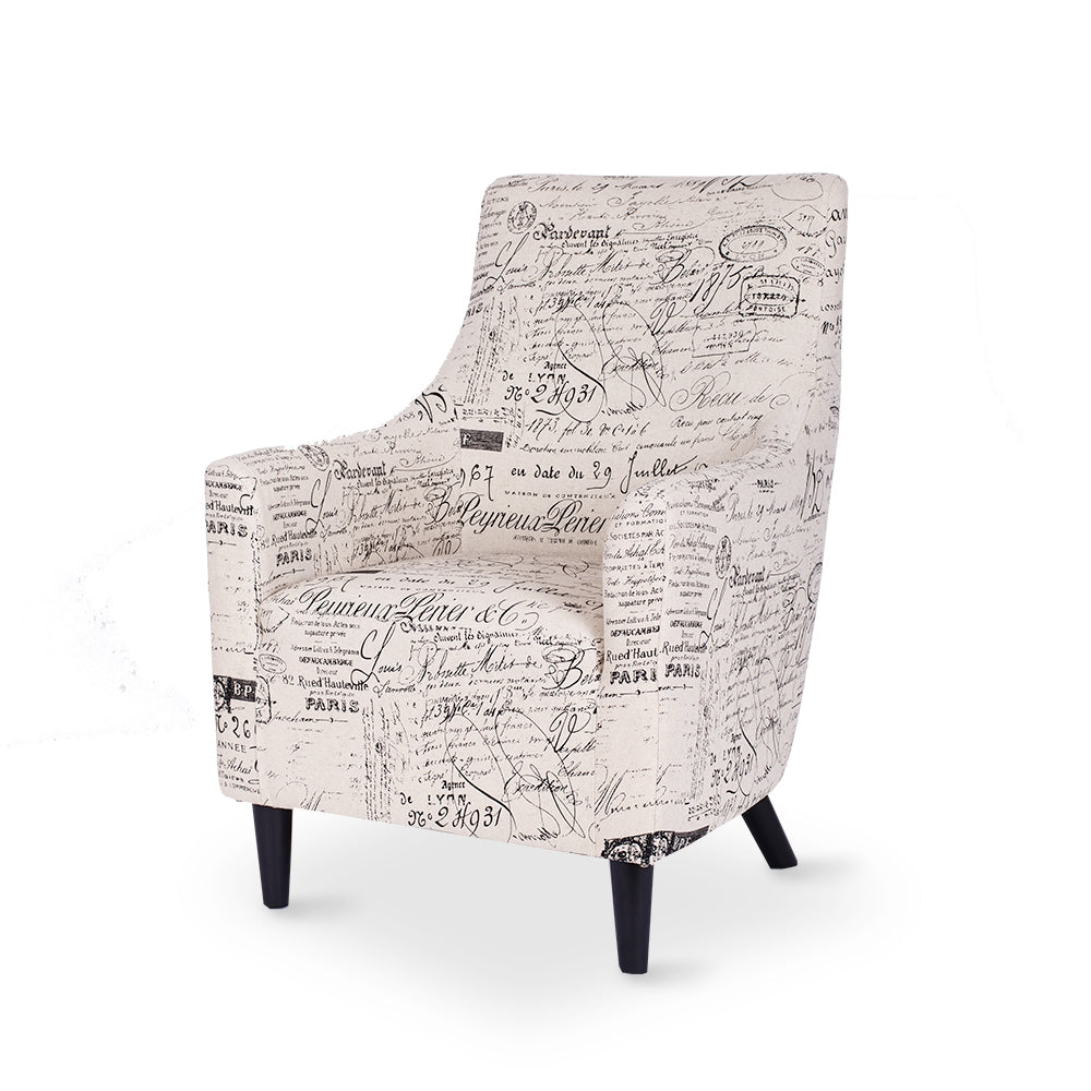 Furniture By Design Tyler French Tub Chair available at Fabers Furnishings