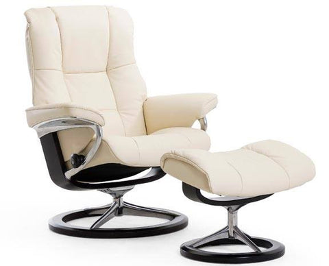 Mayfair Leather Recliner by Stressless at Fabers Furnishings