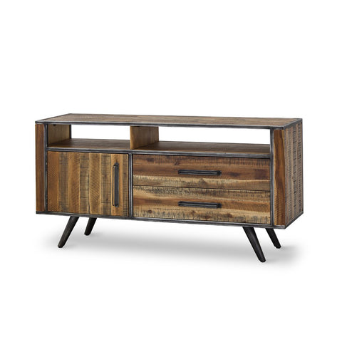 Rustic Skandy Media Centre by FbD available at Fabers Furnishings