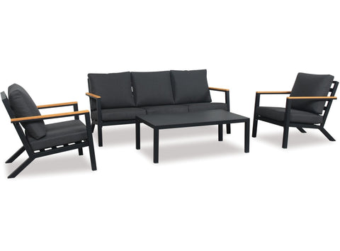Danske Mobler Mercury 4pce Outdoor Lounge Setting available at Fabers Furnishings
