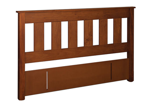 Northville Slatted Headboard available at Fabers Furnishings, made by Coastwood