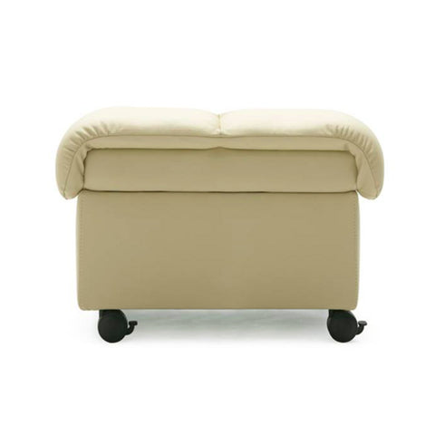 Soft Ottoman by Stressless at Fabers Furnishings