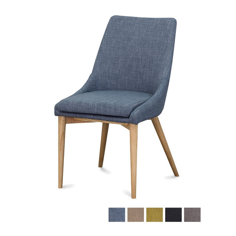 Furniture by Design Eva Dining Chair available at Fabers Furnishings