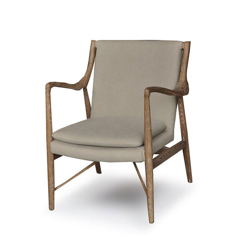 Finn Fabric Armchair available at Fabers Furnishings