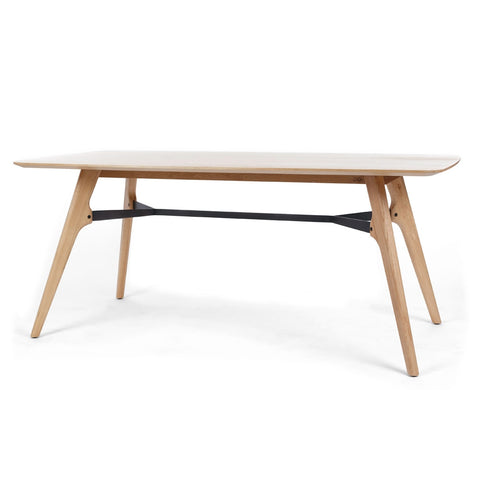 Flow Dining Table available in 4 sizes at fabers Furnishings