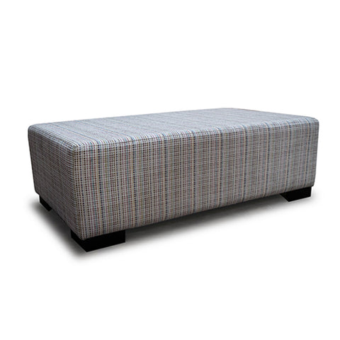 Rectangular Ottoman at Fabers Furnishings