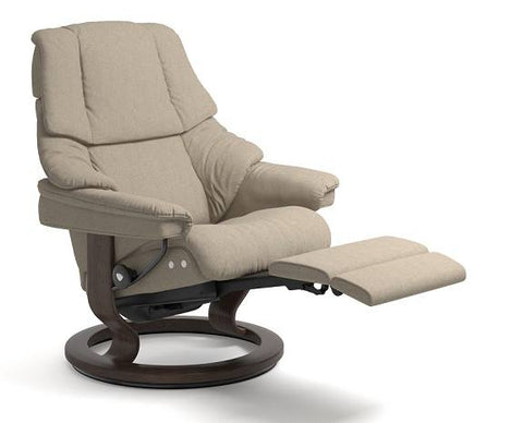 Renol Leg Comfort Recliner- Stressless available at Fabers Furnishings