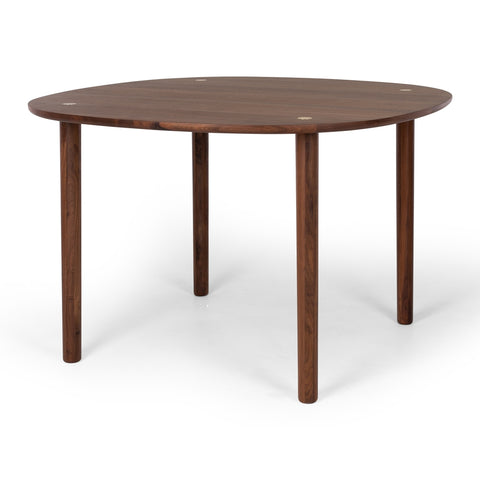 Brass Round Dining Table at Fabers Furnishings