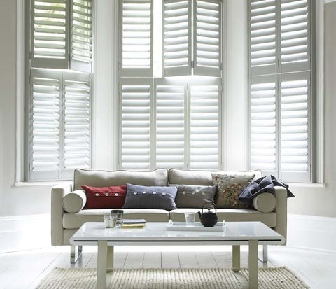 Luxaflex Country Wood Timber Shutters at Fabers Furnishings