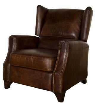 Stratford Recliner Vintage Cigar Chair at Fabers Furnishings