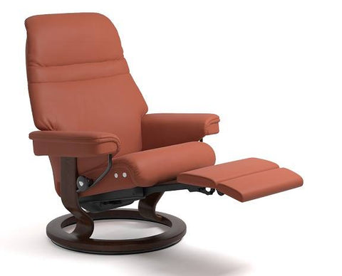 Sunrise Leg Comfort Recliner- Stressless available at Fabers Furnishings