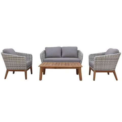 Tuscano 4pce Lounge Setting at Fabers Furnishings