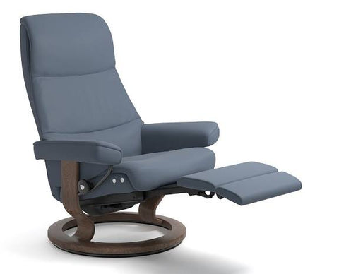 View Leg Comfort Recliner- Stressless available at Fabers Furnishings