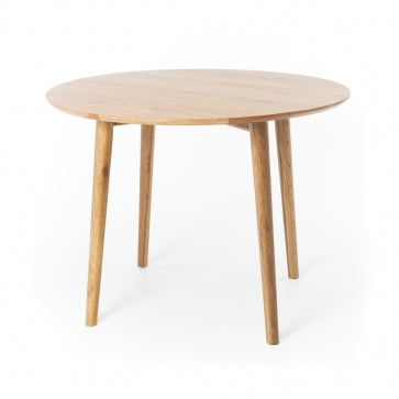 Furniture by Design Nordik Round Dropleaf Dining Table Fabers Furnishings