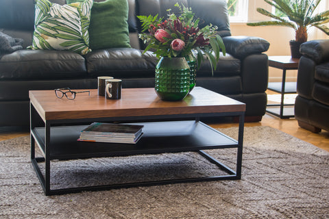 LaZBoy Cubus Coffee Table with Shelf available at Fabers Furnishings