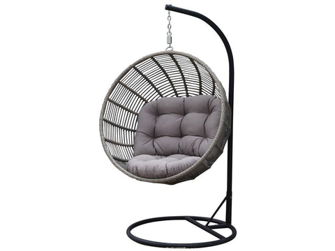 Soho Orb Outdoor Hanging Chair available at Fabers Furnishings