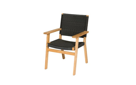 Jackson Outdoor Dining Arm Chair by Devon available at Fabers Furnishings