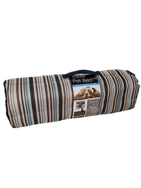 Soft Durable Roll Up Travel Pet Bed