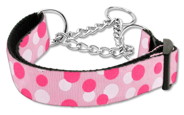 Confetti Dots Nylon Collar Martingale