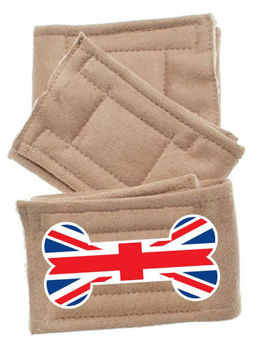 Peter Pads Size  British Bone Flag 3 Pack