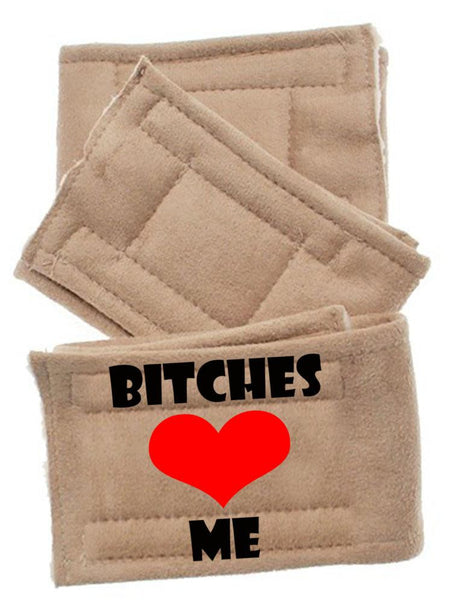 Peter Pads Size  Bitches Love Me 3 Pack