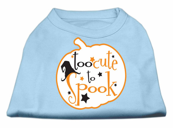 Too Cute To Spook Screen Print Dog Shirt