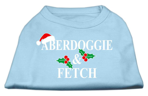 Aberdoggie Christmas Screen Print Shirt