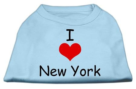 I Love New York Screen Print Shirts