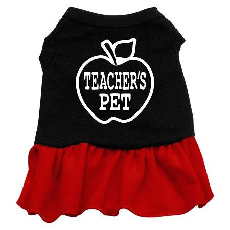 Teachers Pet Screen Print Dress