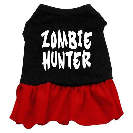 Zombie Hunter Screen Print Dress