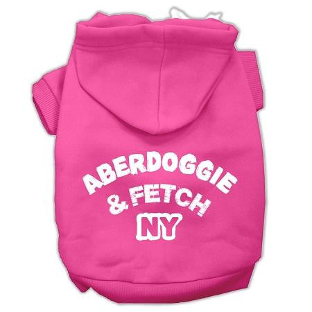 Aberdoggie Ny Screenprint Pet Hoodies