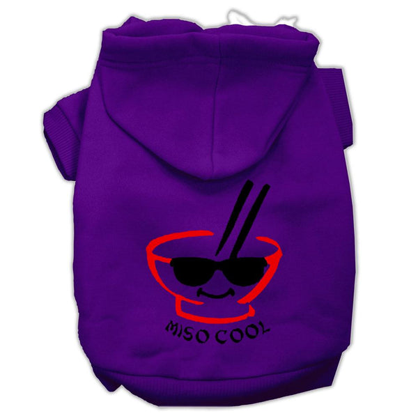 Miso Cool Screen Print Pet Hoodies