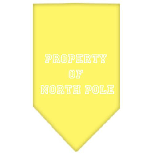 Property Of North Pole Screen Print Bandana