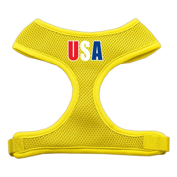 Usa Star Screen Print Soft Mesh Harness