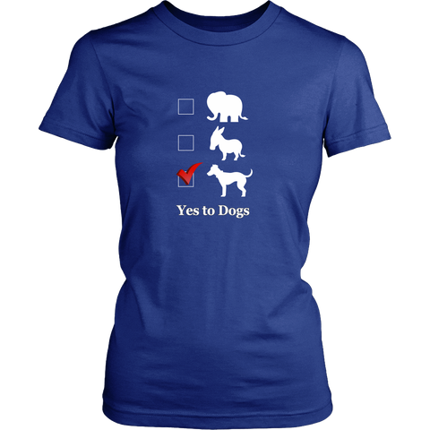 Vote Dogs! Election Women's T-shirt