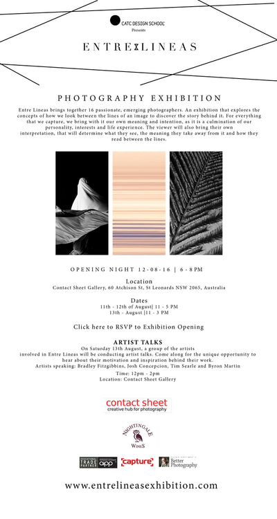 CATC School of Design presents ENTRE LINEAS