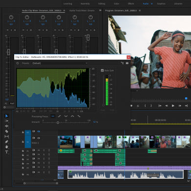 Video projects - Adobe Premier Pro