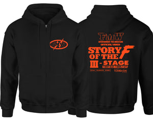 FMW STORY OF THE F 3RD STAGE ZIP-UP HOODIE