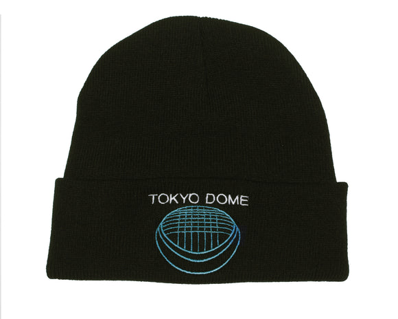 TOKYO DOME EMBROIDERED BEANIE