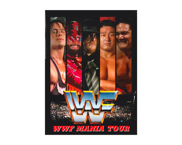 WWF JAPAN TOUR 1994 PROGRAM