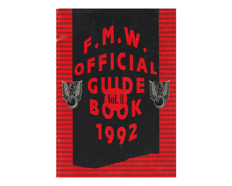 FMW 1992 GUIDE BOOK VOL 2