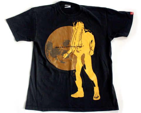 PANCRASE MINORU SUZUKI LONELY WARRIOR T-SHIRT LG