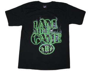 WWF TRIPLE H I AM THE GAME T-SHIRT MED